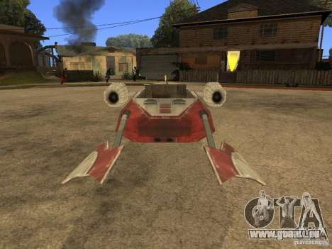 Gepäck aus Star Wars für GTA San Andreas Rückansicht