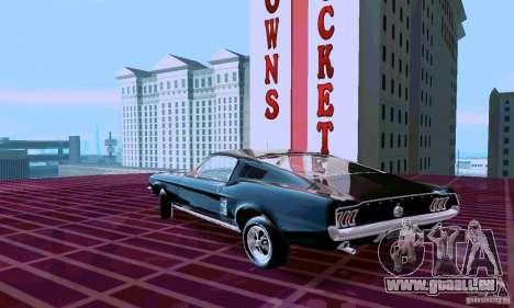 Ford Mustang 1967 für GTA San Andreas linke Ansicht