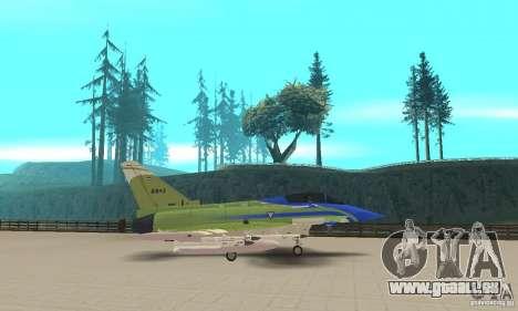 Eurofighter 2010 pour GTA San Andreas laissé vue