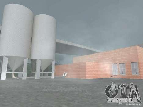 Pringles Factory pour GTA San Andreas deuxième écran