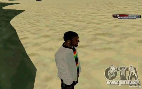 Jamaikanische HD-Haut für GTA San Andreas dritten Screenshot