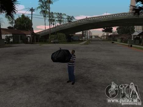 CJ-kleptomane pour GTA San Andreas