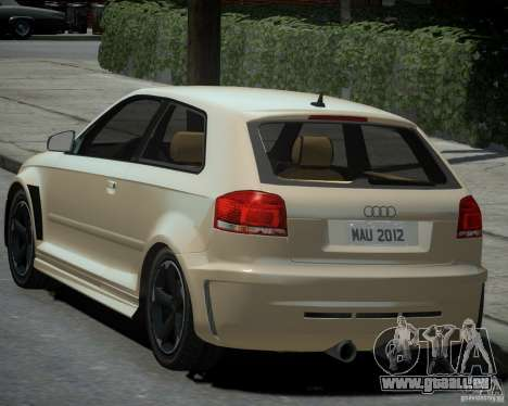 Audi S3 v2.0 pour GTA 4 est une gauche