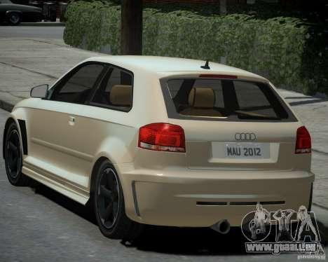 Audi S3 v2.0 für GTA 4 linke Ansicht