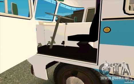 PAZ 672 für GTA San Andreas Rückansicht