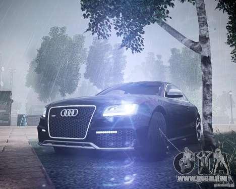 Audi RS5 2010 pour GTA 4 Vue arrière