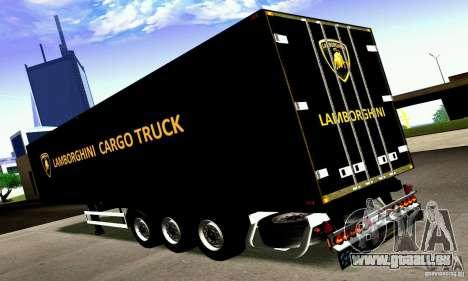 Lamborghini Cargo Truck für GTA San Andreas