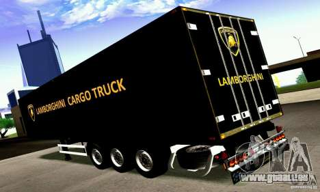 Lamborghini Cargo Truck pour GTA San Andreas