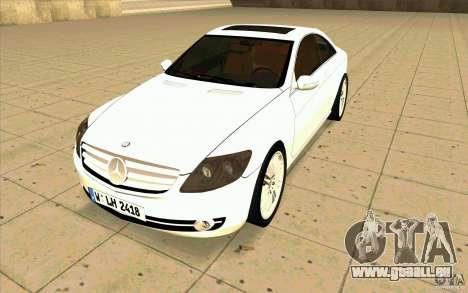 Mercedes Benz CL 500 für GTA San Andreas