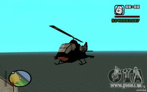 Urban Strike helicopter für GTA San Andreas