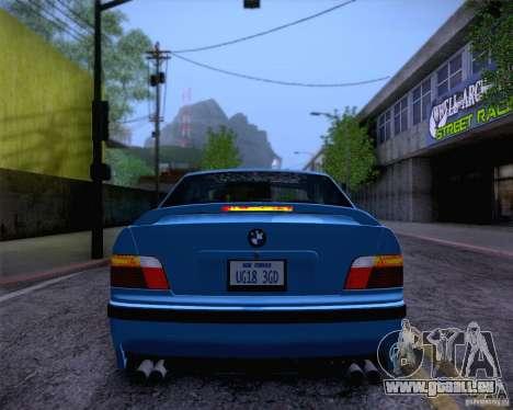 BMW M3 E36 1995 pour GTA San Andreas salon