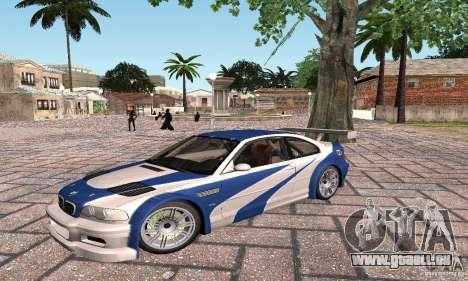 New Groove by hanan2106 pour GTA San Andreas troisième écran