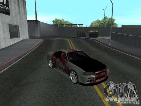 Nissan Skyline R 34 für GTA San Andreas