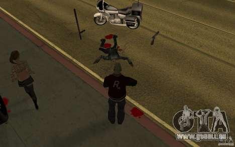 CLEO mod: renouvellement des piétons v1.0 pour GTA San Andreas deuxième écran