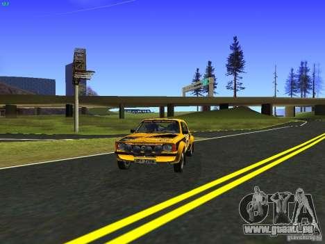 Opel Kadett pour GTA San Andreas sur la vue arrière gauche