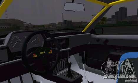 BMW M635CSi Stanced für GTA San Andreas Seitenansicht