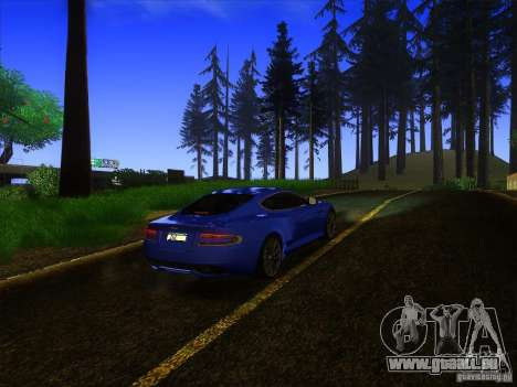 Aston Martin Virage 2011 Final für GTA San Andreas Seitenansicht
