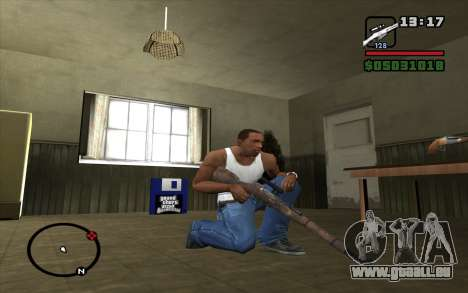 Fusil Mosin pour GTA San Andreas