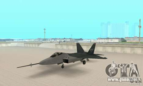 Y-f22 Lightning pour GTA San Andreas