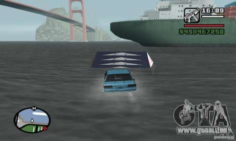 Le tremplin pour GTA San Andreas