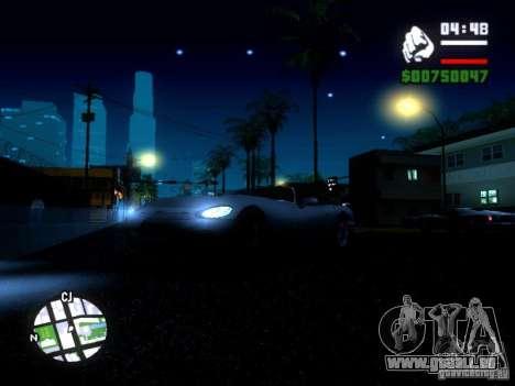 ENBSeries Medium PC pour GTA San Andreas quatrième écran