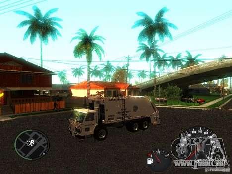 Piégeur de GTA 4 pour GTA San Andreas sur la vue arrière gauche