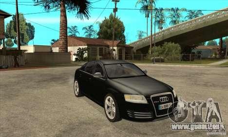 Audi RS6 2010 pour GTA San Andreas vue arrière