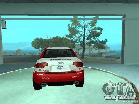 Audi RS4 für GTA San Andreas Räder