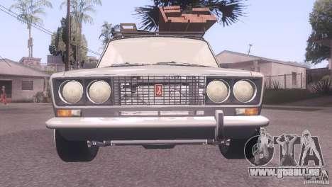 VAZ 2106 Tuning Ratte Stil für GTA San Andreas zurück linke Ansicht