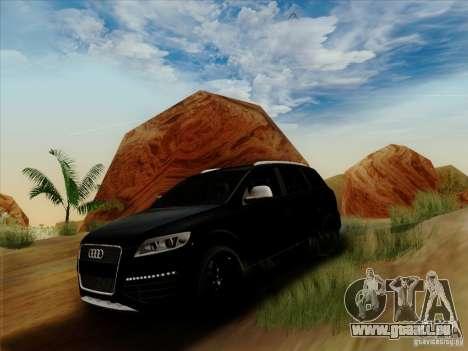 Audi Q7 2010 pour GTA San Andreas laissé vue