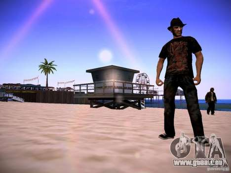Niko Bellic Reload Beta 0.1 für GTA San Andreas dritten Screenshot