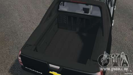 Chevrolet Avalanche Stock [Beta] pour GTA 4 est un côté