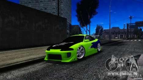 Mitsubishi Eclipse GSX FnF für GTA 4