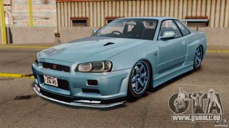 Nissan Skyline GT-R (BNR34) 2002 pour GTA 4