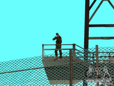Belebten Gegend 69 für GTA San Andreas her Screenshot
