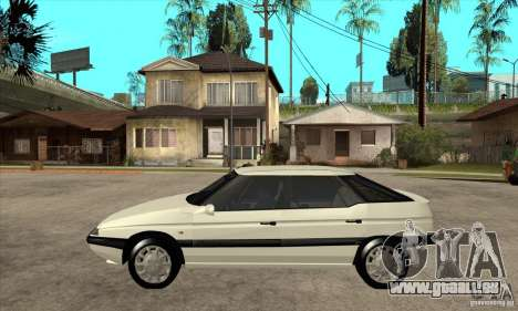 Citroen XM 1992 pour GTA San Andreas laissé vue