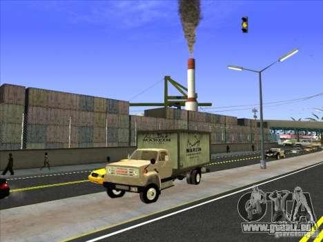Yankee basé sur GMC pour GTA San Andreas