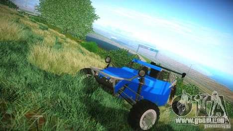 Buggy V8 4x4 für GTA San Andreas linke Ansicht