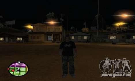 Triple H pour GTA San Andreas cinquième écran