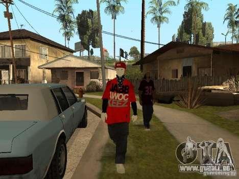 JabbaWockeeZ Skin pour GTA San Andreas cinquième écran