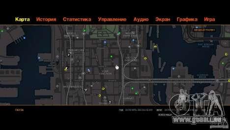 CG4 Radar Map pour GTA 4 cinquième écran