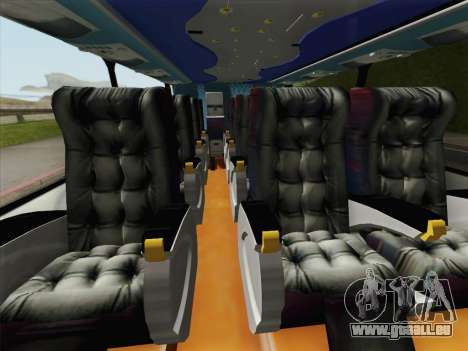 Busscar Panoramico DD 8x2 für GTA San Andreas obere Ansicht