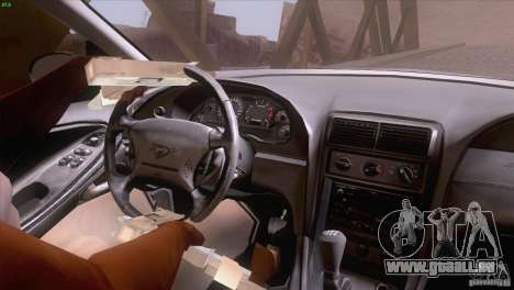 Ford Mustang GT 1999 pour GTA San Andreas salon