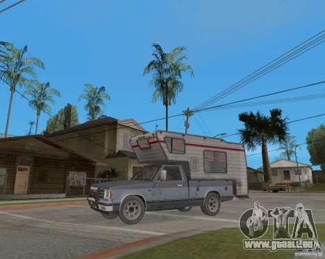 Chevrolet S-10 Kemper v2.0 pour GTA San Andreas laissé vue