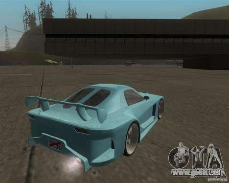 Mazda RX-7 Veilside Fortune für GTA San Andreas rechten Ansicht