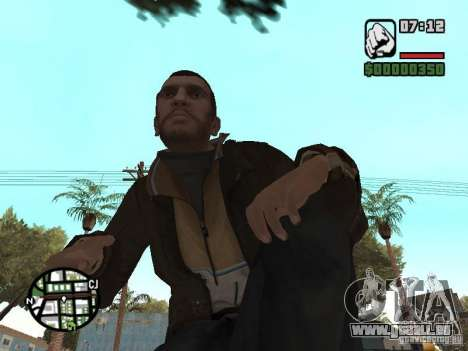 Niko Bellic für GTA San Andreas elften Screenshot