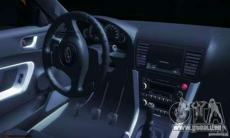 Subaru Legacy BIT edition 2004 pour GTA San Andreas laissé vue