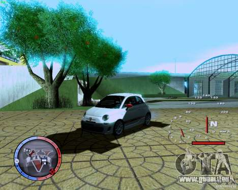 Fiat 500 Abarth für GTA San Andreas