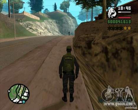 Service de sécurité russe pour GTA San Andreas cinquième écran