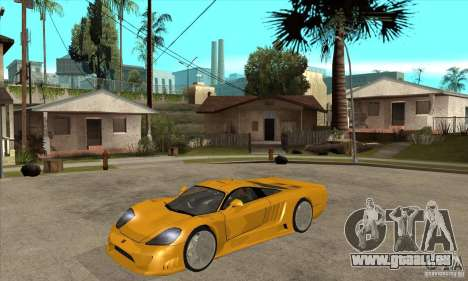 Saleen S7 Twin Turbo für GTA San Andreas